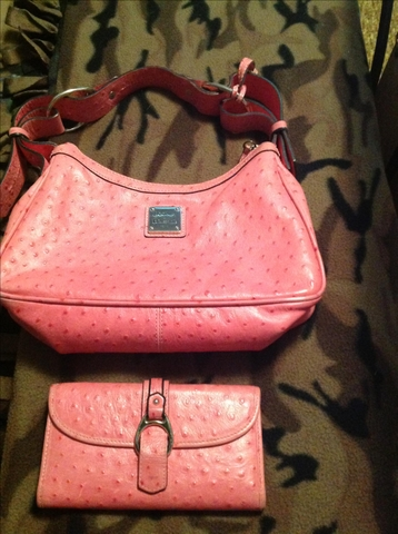 Dooney amp Bourke purse and matching wallet