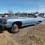 1973 Buick Electra 225 Sport Coupe Parts or Demolition Derby