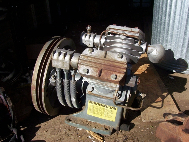 INGERSTALL RAND AIR COMPRESSOR PUMP