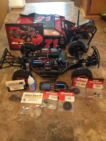 Traxxas Slash 4X4 Modified