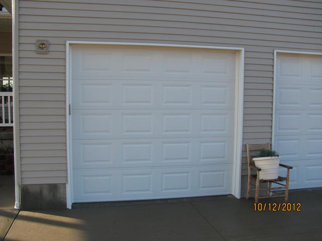 Garage door 8 ft garage door inspiring photos gallery for Tall garage doors