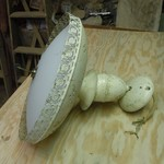 used ceiling light fixture