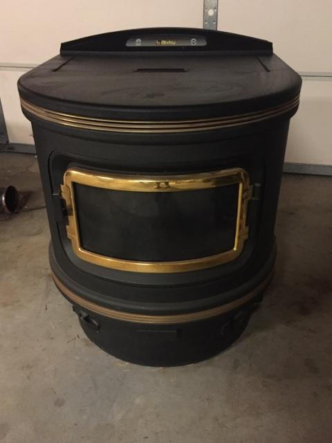 Bixby Corn Pellet Burning Stove
