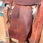Custom made Will James saddle
