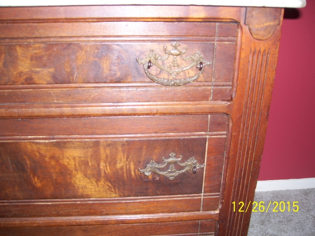 Price Reduced Antique Marble Top Dresser Nex Tech Classifieds