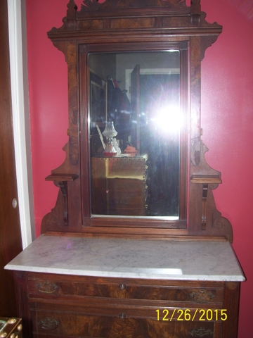 Price Reduced Antique Marble Top Dresser PTCI Classifieds