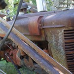 1942 H Farmall tractor and loader