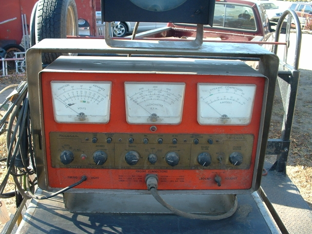 Man Cave Classifieds : Vintage allen diagnostic shop equipment gas station man