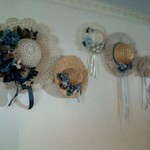Five decorative Hats