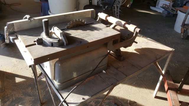 Craftsman Table Saw amp Table