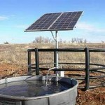 Solar Powered Submersible Well Pump System
