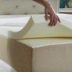 "Full/Dbl Bed 3"" Heavy Memory Foam Topper CLEAN EXC Nr NEW"