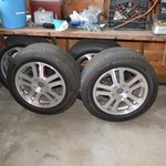 PRICE REDUCED 05 MUSTANG RIMS AND TIRES