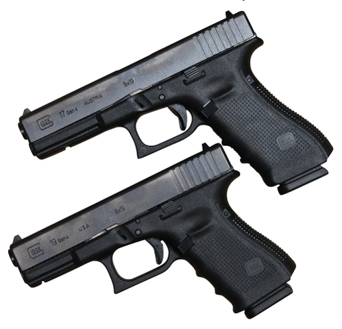 New Pistol Glock 17 and 19 Gen4 9mm