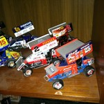 Die Cast sprint cars