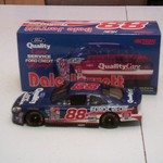 1:24 Scale 2000 Ford Taurus #88 Quality Care Stock Car.