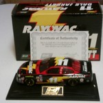 1:24 Scale 1999 Ford Taurus #11 Ray-O-Vac Stock Car.