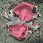 Custom made hair bows
