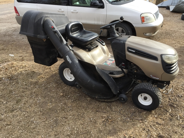 Craftsman Double Bagger : Craftsman hp quot mower hydrostatic transmition with