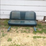 1971 International 1110 Bench Seat