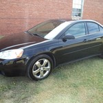 2005 Pontiac G6 GT, Black, V-6, Panoramic roof, remote start