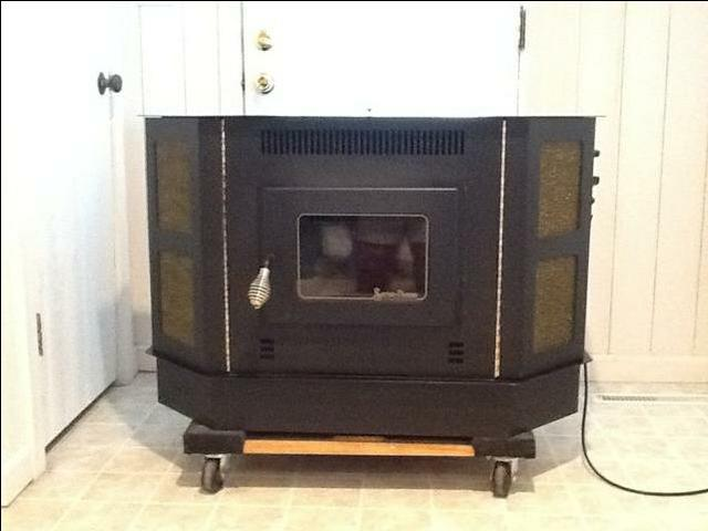 Snow-Flame Free Standing or Fireplace Insert Corn Stove ...
