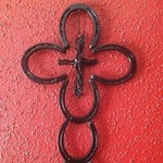 Horseshoe cross for sale