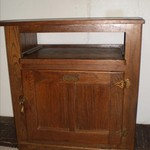 Antique Ice Box Cabinet