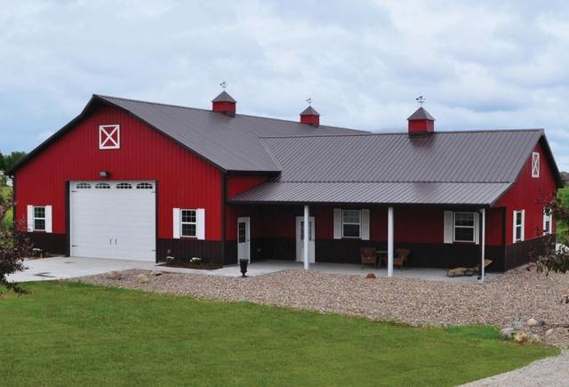 Limited time spring specials pole barns and pole for House barn combo plans