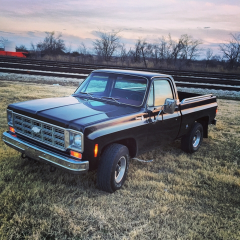 1977 Chevy K-10 4x4 short bed