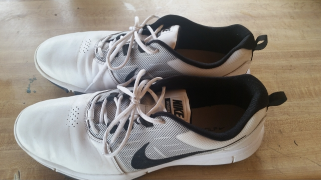 Nike spike less golf shoes size 12