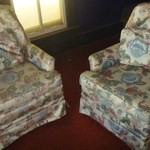 Two Upholstered Living Room Chairs