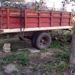 wheat truck trailer