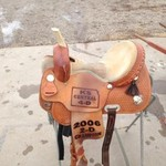 Pro Rider Barrel Saddle