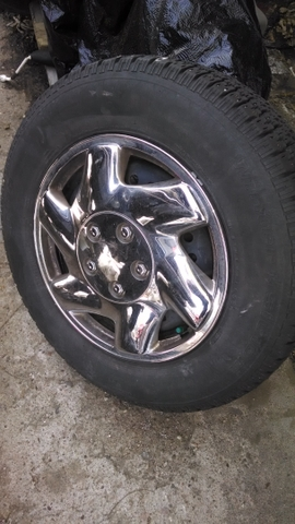 studded 15 inch tires and rims
