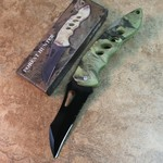 CAMO POCKET KNIFE.