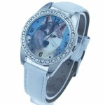 DOG WOLF WRIST WATCH