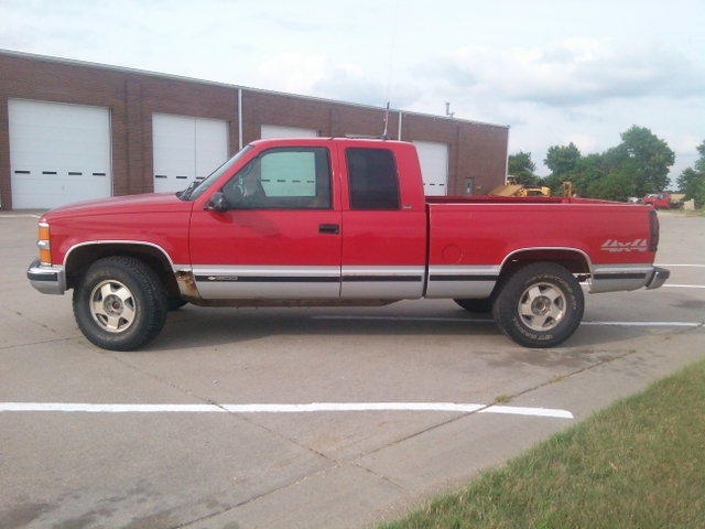 1996 chevy silverado 4x4 1 2 ton for sale or trade nex tech classifieds. Black Bedroom Furniture Sets. Home Design Ideas