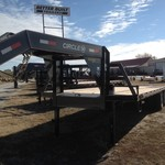 "2014 ""NEW"" Circle M 30' Gooseneck Flatbed"