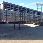 2015 Travalong 8 1/2 x 48' Ground Load Livestock