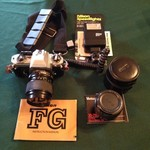 Nikon FG 35 mm Camera Set