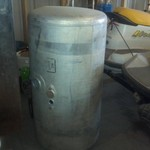 250 gallon Peterbilt fuel tank