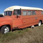 Vintage 1953 Ford Bus Conversion