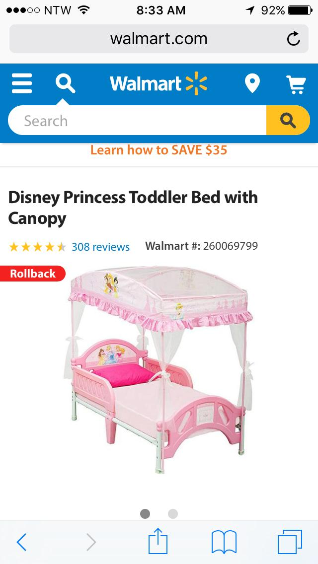 princess toddler bed instructions