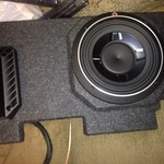 2007 chevy avalanche box with 2 subs and amp PRICE REDUCED