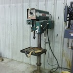 3 Phase Drill Press, Vice, Bit and many Acesssories