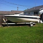 1984 Bayliner 18ft Boat