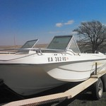 17' SternCraft boat for sale--165 hp mercury inboard--price