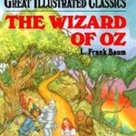 Wizard of oz Books 3 each in Plastic