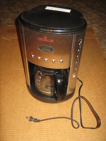 Gevalia Stainless Steel 12 Cup Coffee Maker - Nex-Tech Classifieds